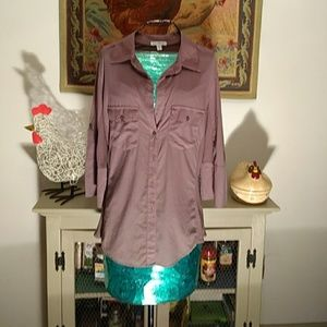 Size 4 button down blouse